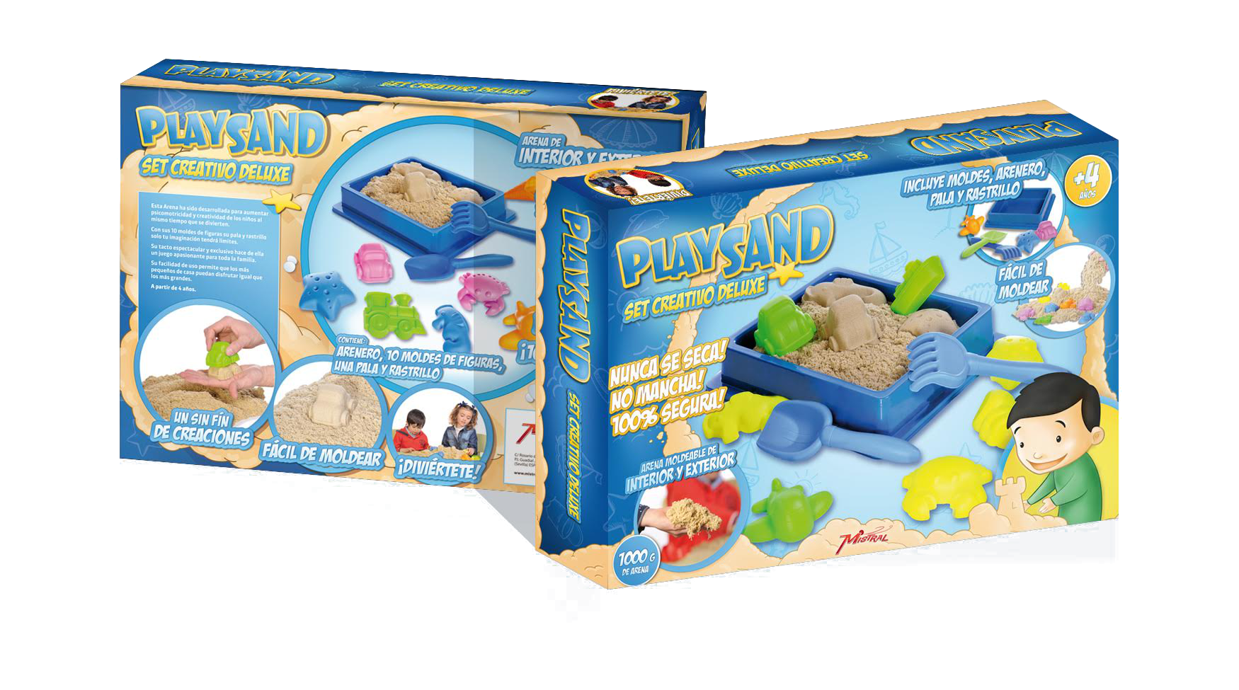 Playsand. Set Creativo
